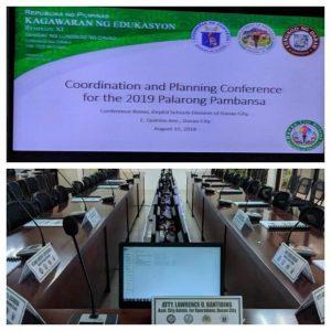 Palarong Pambansa 2019 Coordination and Planning Conference