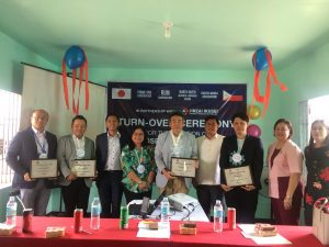 Turn Over ceremony of Hospitals Beds and Equipments  – Jinkai Ikuse Language Solution