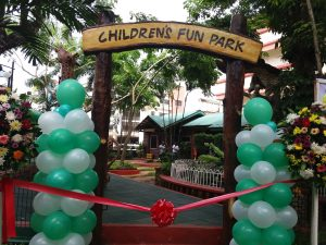Parks and Play Ground Ribbon Cutting